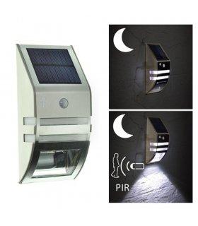 Kinkiet Solarny Fasadowy LED BIS + czujnik ruchu