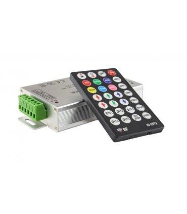 Sterownik LED RGB radiowy 12V 216W + pilot 28 przycisków