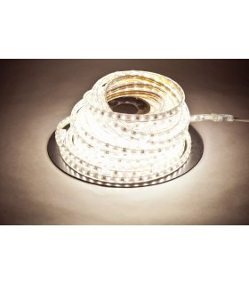 Taśma LED 230V SMD 5050 60 diod /1m, IP67, 4,8W/mb