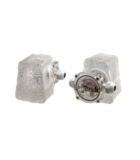 Piccola mała 6,3x7,6x9x6cm Świecąca kostka brukowa LED