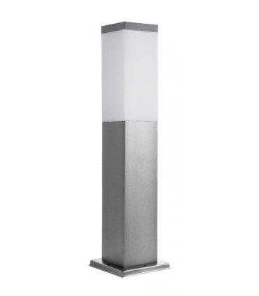 Lampa INOX KWADRAT 450 Srebrna
