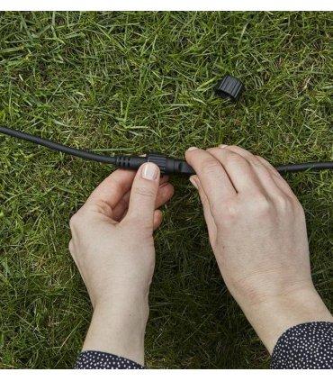 GARDEN 24 Kabel Przedłużający 2m Czarny