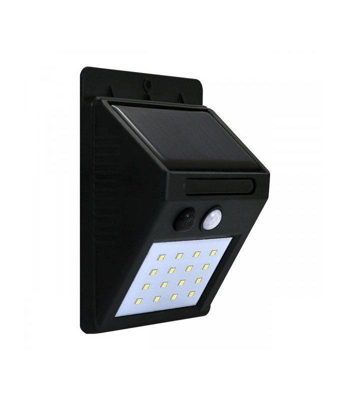 Lampa solarna POLUX BOX mini SRQ60531 z czujnikiem zmierzchowo-ruchowym