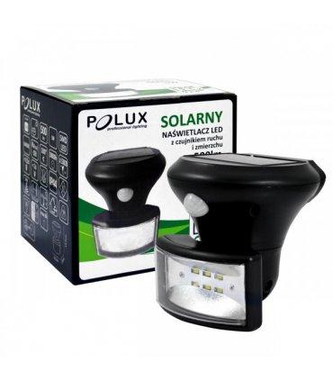 Lampa solarna POLUX PIR SL1844 z czujnikiem zmierzchowo-ruchowym