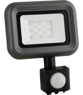 Naświetlacz LED 10W SMD HELI S - Z CZUJNIKIEM ZMIERZCHU I RUCHU