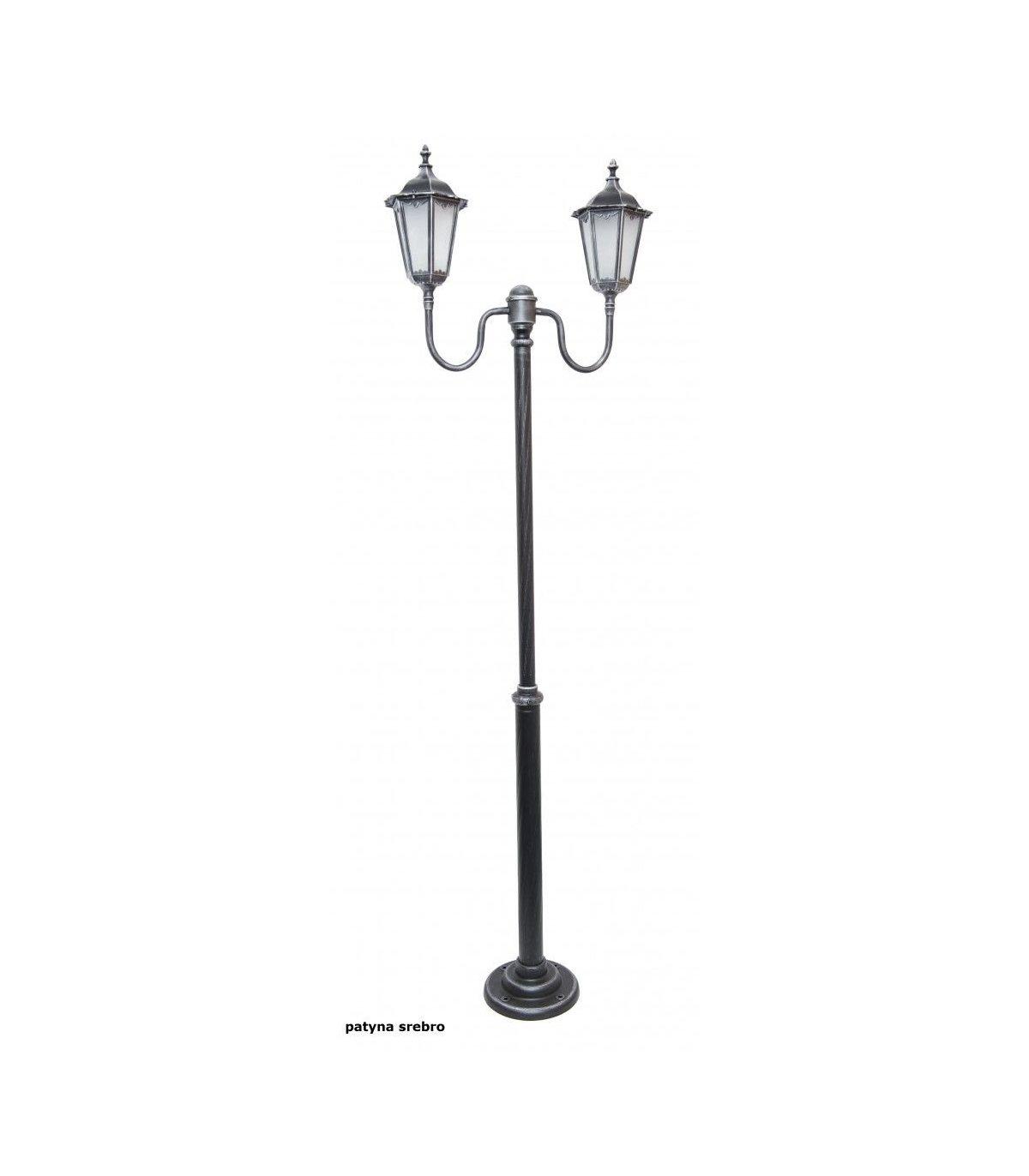 lampy ogrodowe retro male