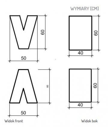 Litera A / V