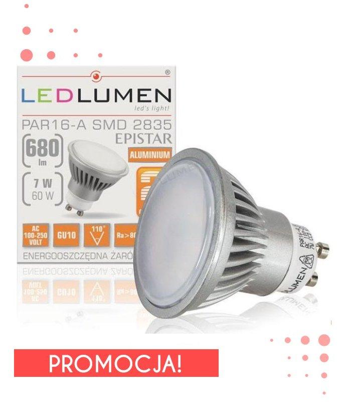 Żarowka LED 7W GU10 680lm