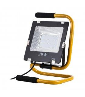 Naświetlacz LED 30W przenośny z uchwytem