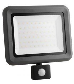 Naświetlacz LED 50W SMD HELI S - z czujnikiem zmierzchu i ruchu Wodoodporny