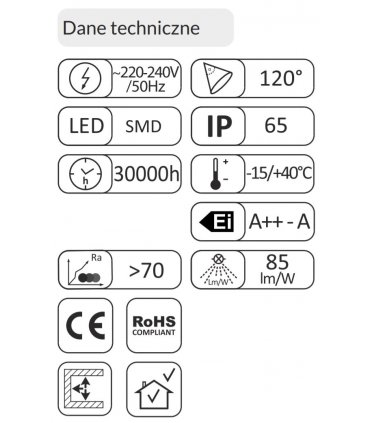 Naświetlacz LED 10W SMD OXY