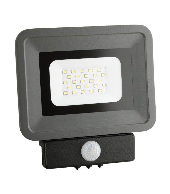 Naświetlacz LED 30W ARGO z czujnikiem zmierzchu i ruchu Wodoodporny