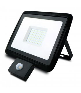 Naświetlacz LED 50W PIXEL Czarny z czujnikiem zmierzchowo-ruchowym