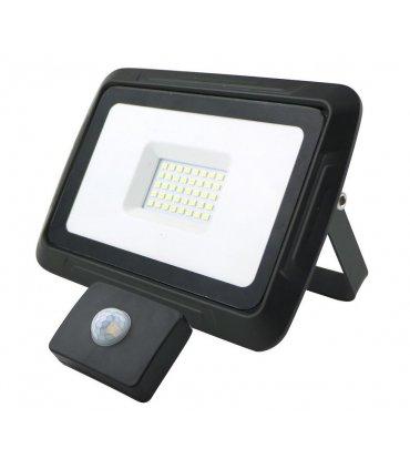 Naświetlacz LED 30W PIXEL Czarny z czujnikiem zmierzchowo-ruchowym