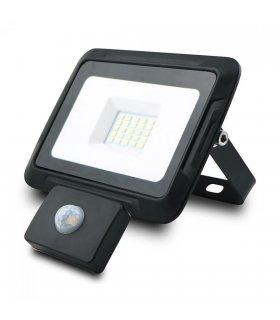 Naświetlacz LED 20W PIXEL Czarny z czujnikiem zmierzchowo-ruchowym