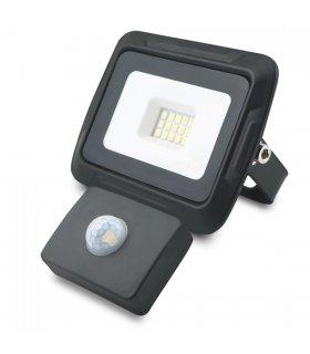 Naświetlacz LED 10W PIXEL Czarny z czujnikiem zmierzchowo-ruchowym