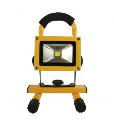 Naświetlacz LED 10W bezprzewodowy z akumulatorem (230V AC / 12V DC)