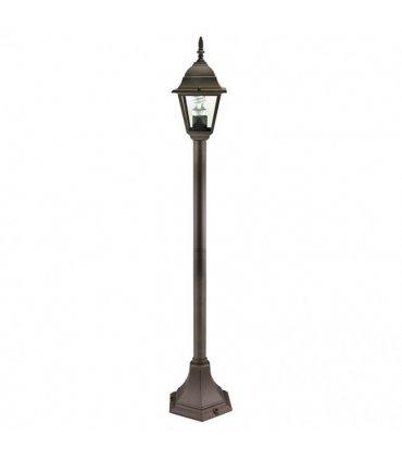 Lampa ogrodowa POLUX MILANO ALU4118MC wysoka coffee