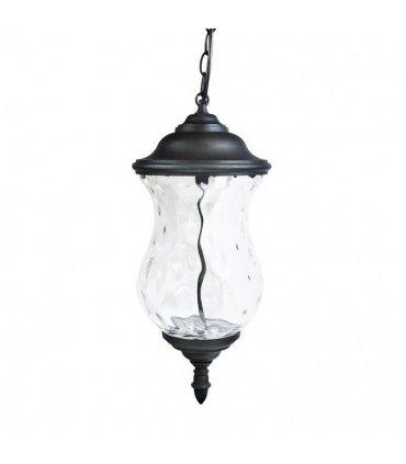 Lampa ogrodowa wisząca POLUX MARSYLIA AL833CHCWB czarna