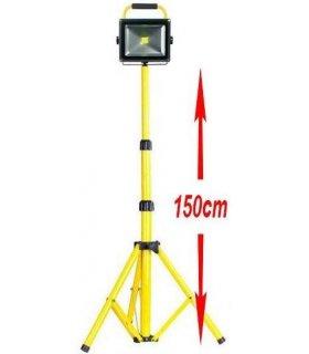 Naświetlacz LED Bezprzewodowy na statywie 1,5m (Tripod)