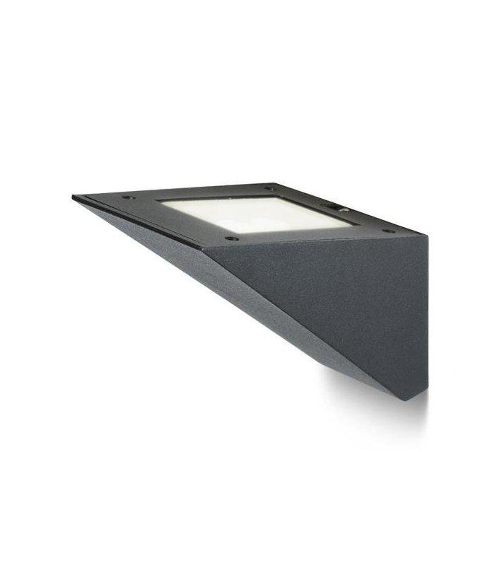 ADIVA ścienna czarna LED 6x1W IP54 REDLUX