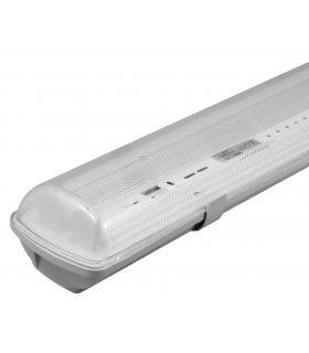 Oprawa hermetyczna ABS IP65 60cm podwójna do świetlówek LED