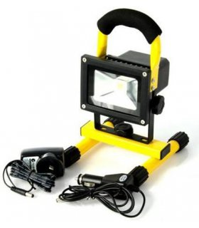 Naświetlacz LED 10W bezprzewodowy z akumulatorem