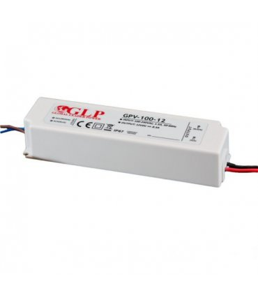 Zasilacz LED 100W 12V IP67 GLP