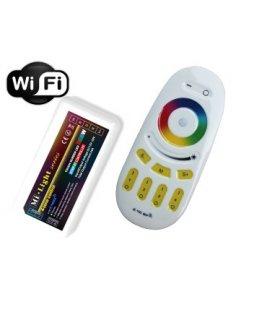 Sterownik RGBW RF + WiFi 12V / 24A - 288W 4 strefy