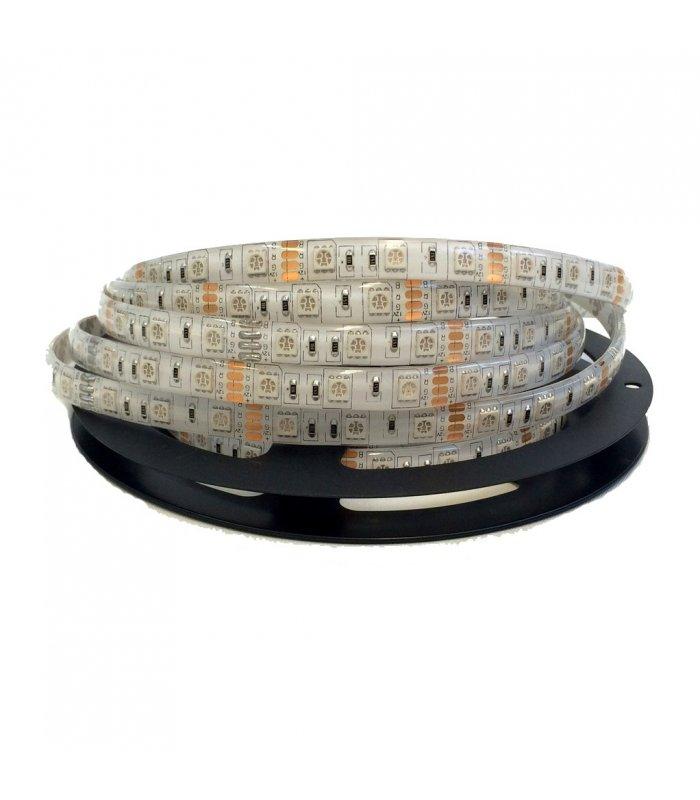 300 LED RGB SMD5050 IP65  wodoszczelna rolka 5m