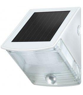 Lampa ścienna solarna LED SOL 04 + czujnik zmierzchowo-ruchowy