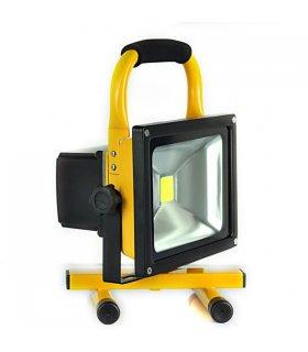 Naświetlacz LED 30W bezprzewodowy z akumulatorem (230V AC / 12V DC)
