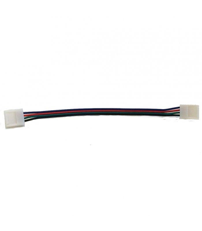Złączka do taśm LED RGB z przewodem 15cm