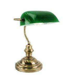 Lampa biurkowa BANKIERSKA Zielona