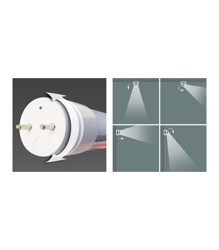 Świetlówka LED T8 9W 60cm dwustronnie zasilana