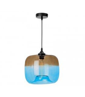 Lampa wisząca Tropea dymna/niebieska LP-3046/1P