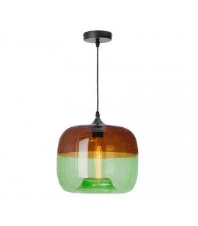 Lampa wisząca Tropea dymna/zielona LP-3046/1P