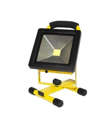 Naświetlacz LED 20W bezprzewodowy SLIM akumulatorowy (230V AC / 12V DC)