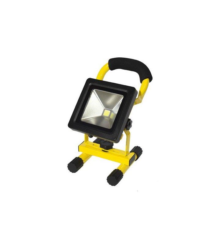 Naświetlacz LED 10W bezprzewodowy SLIM akumulatorowy (230V AC / 12V DC)