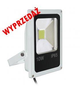 Naświetlacz LED 10W Pro SLIM Biały Wodoodporny