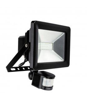 Naświetlacz LED 30W SMD Pro z czujnikiem zmierzchu i ruchu IP65