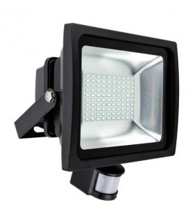 Naświetlacz LED 50W SMD Pro z czujnikiem zmierzchu i ruchu IP65