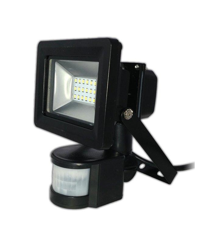 Naświetlacz LED 20W SMD Pro z czujnikiem zmierzchu i ruchu Wodoodporny