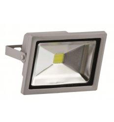 Naświetlacz LED 20W SZARY Polerowany Wodoodporny