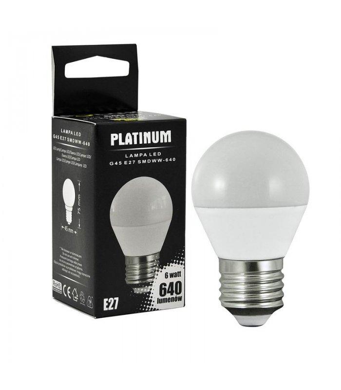 Żarówka LED 7W E27 640lm