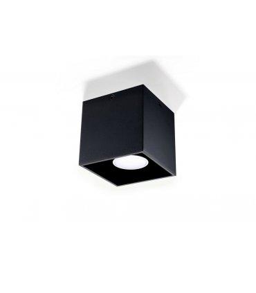 Plafon QUAD 1 czarny