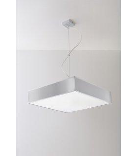 Lampa wisząca HORUS 45cm Szara