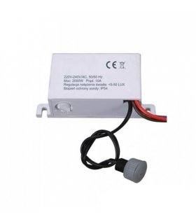 Czujnik zmierzchowy  230V IP54