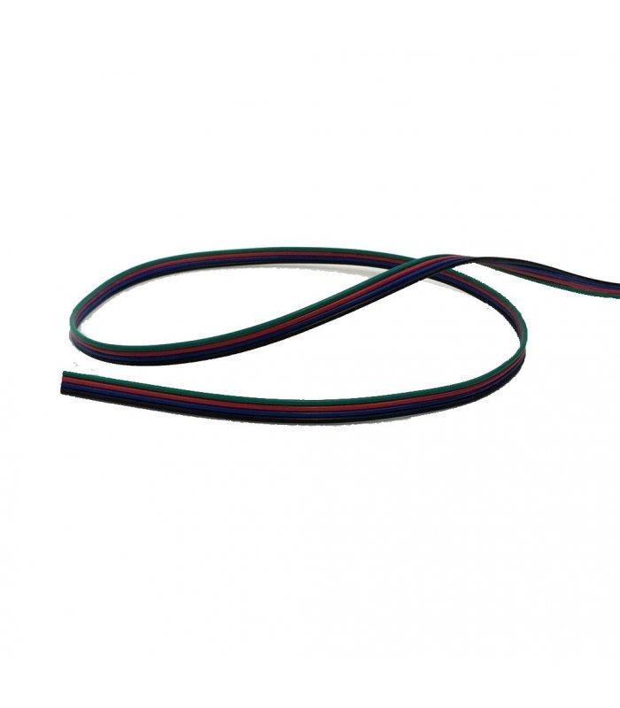 Przewód RGB 4-żyłowy 1m