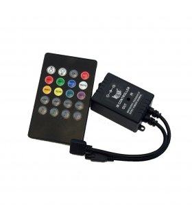Sterownik Muzyczny RGB Do Taśm LED